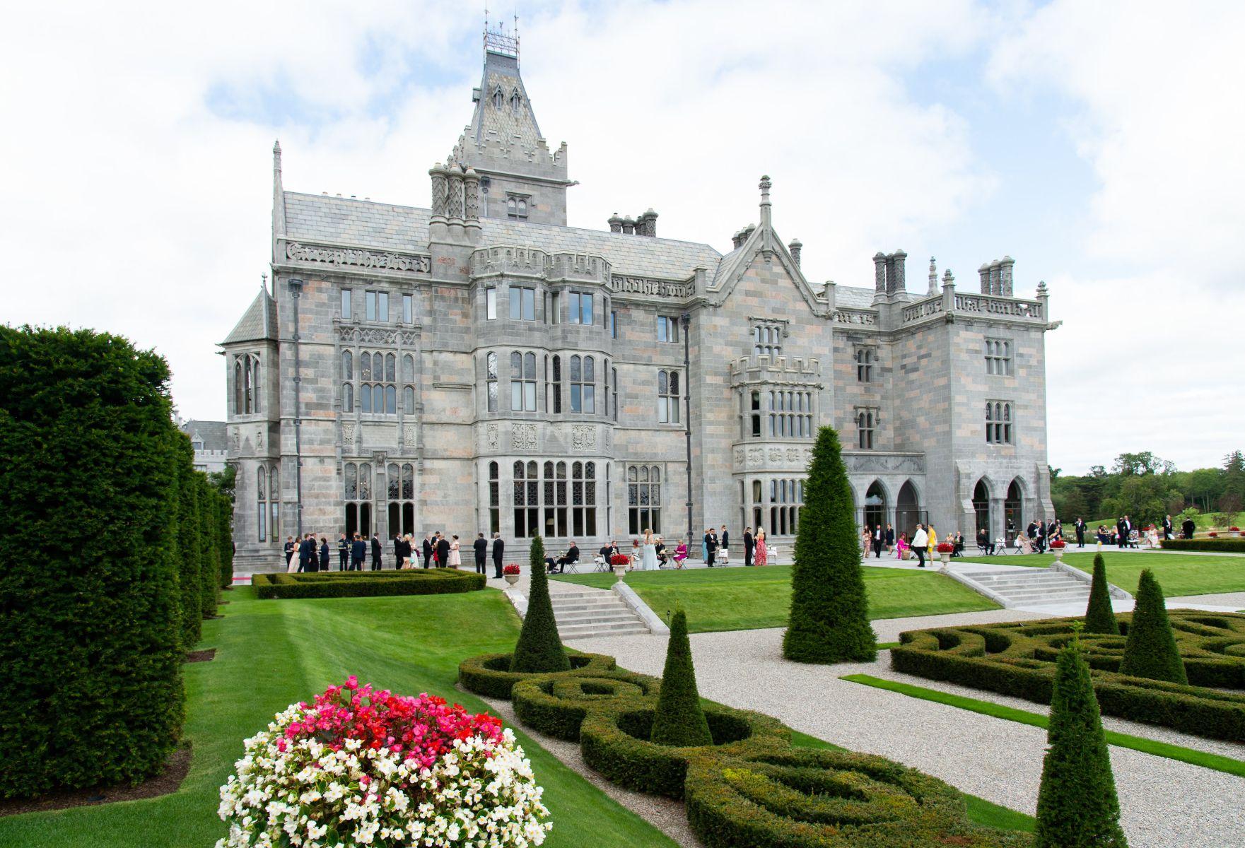 Adare Manor in Ireland, a castle.
