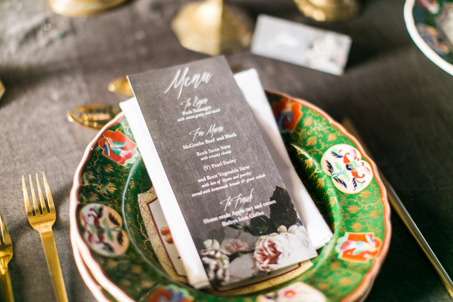 How to Create an Irish Wedding Menu