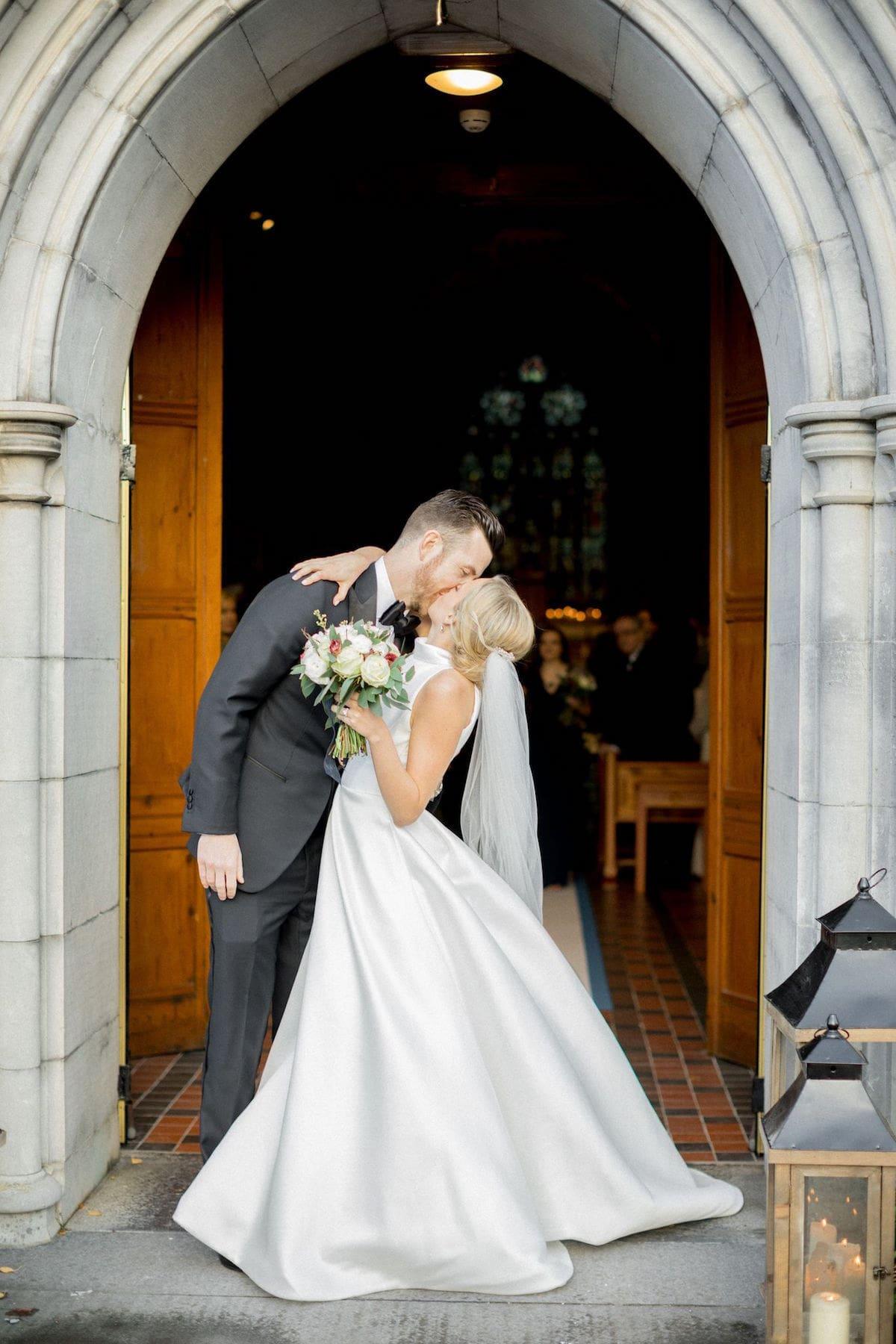 Ceremony exit Limerick wedding