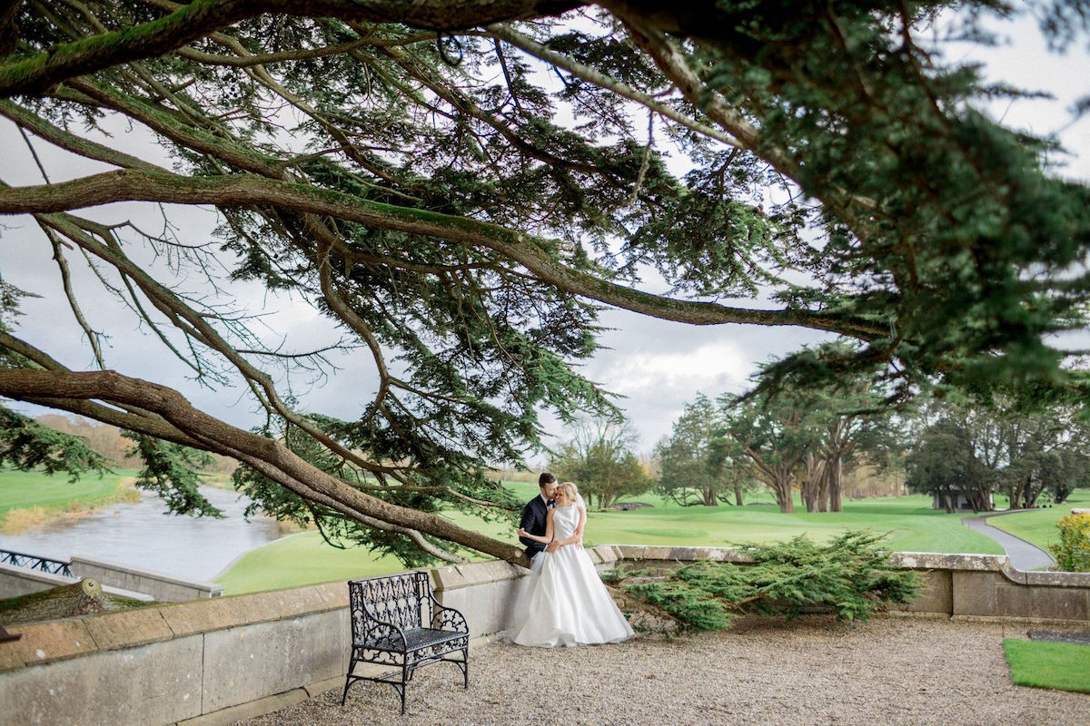 Adare Manor wedding grounds scenery