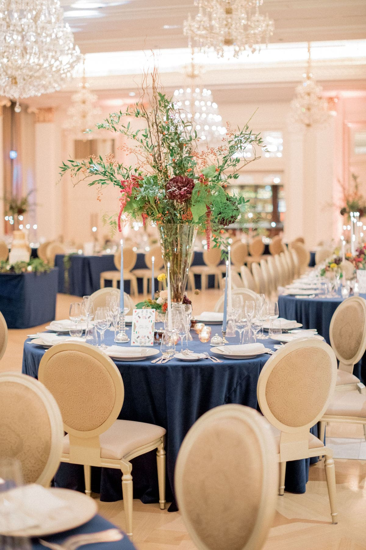 Adare Manor Grand Ballroom wedding reception