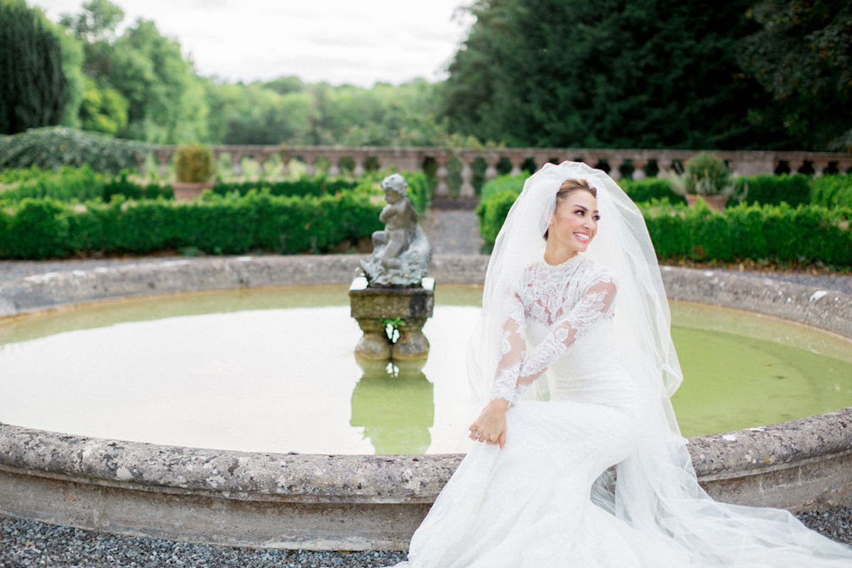 Wearing an Irish Lace Wedding Dress for Your Destination Wedding