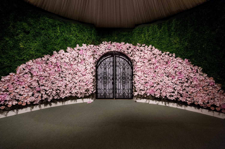 Adare Manor Wedding Venue Secret Garden Entrance
