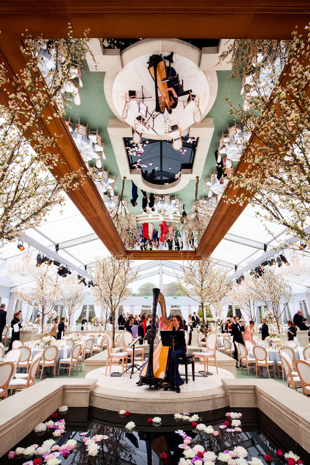Adare Manor Wedding Venue Walled Garden Marquee