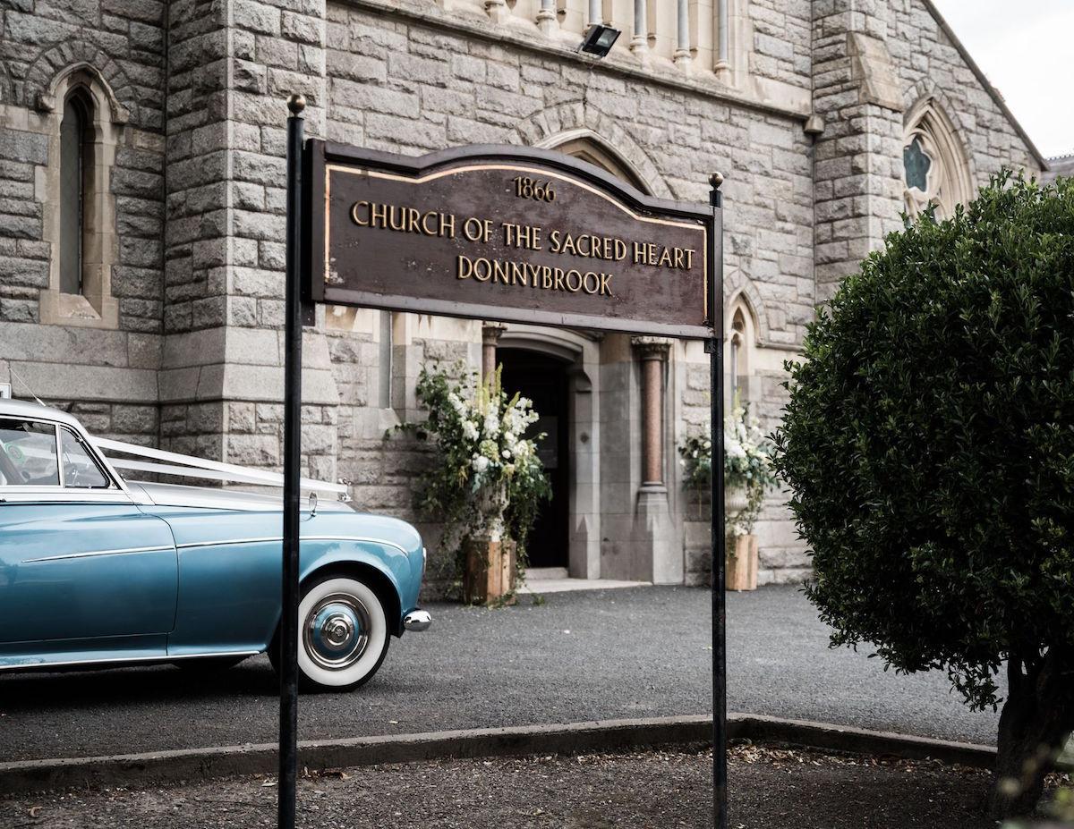 Ireland church wedding