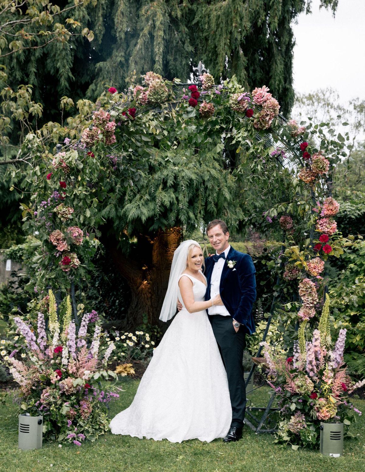 floral arch garden