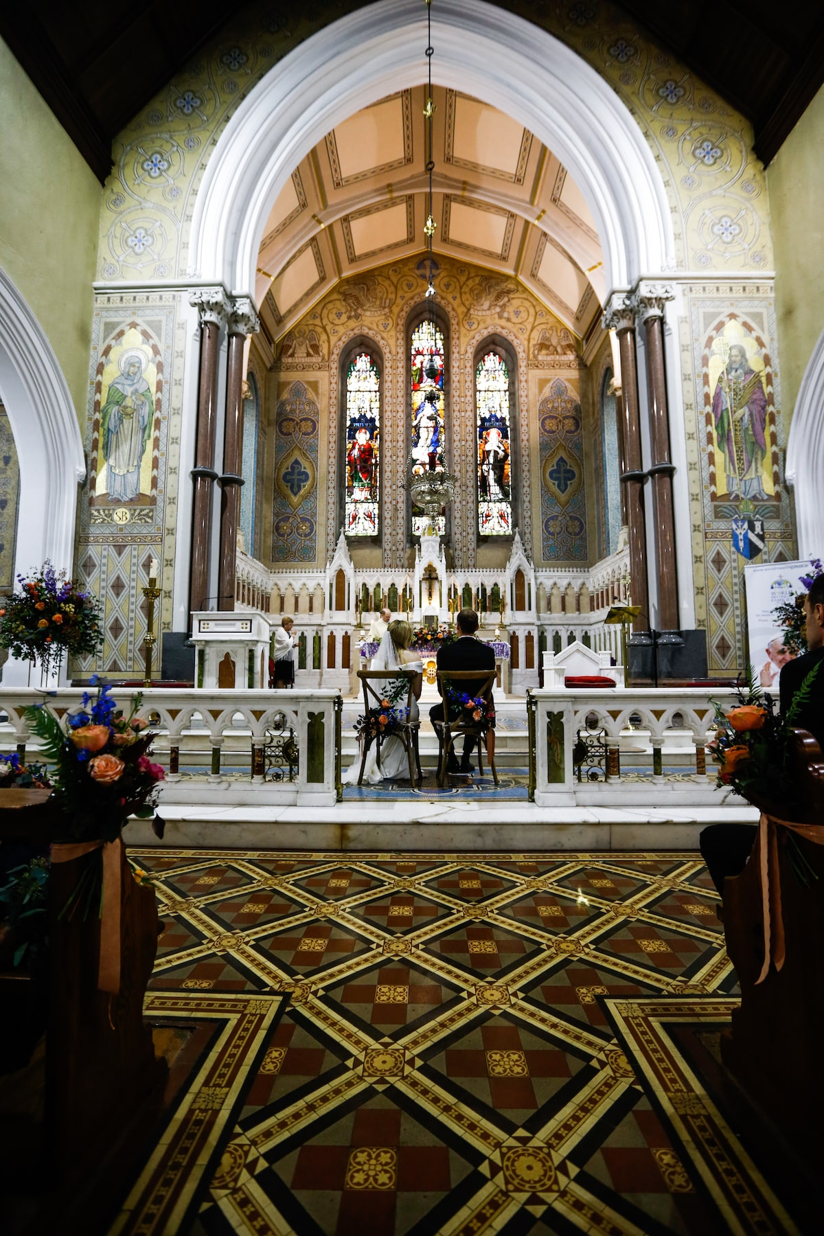 St Brigid's Catholic Church in Oldcastle wedding