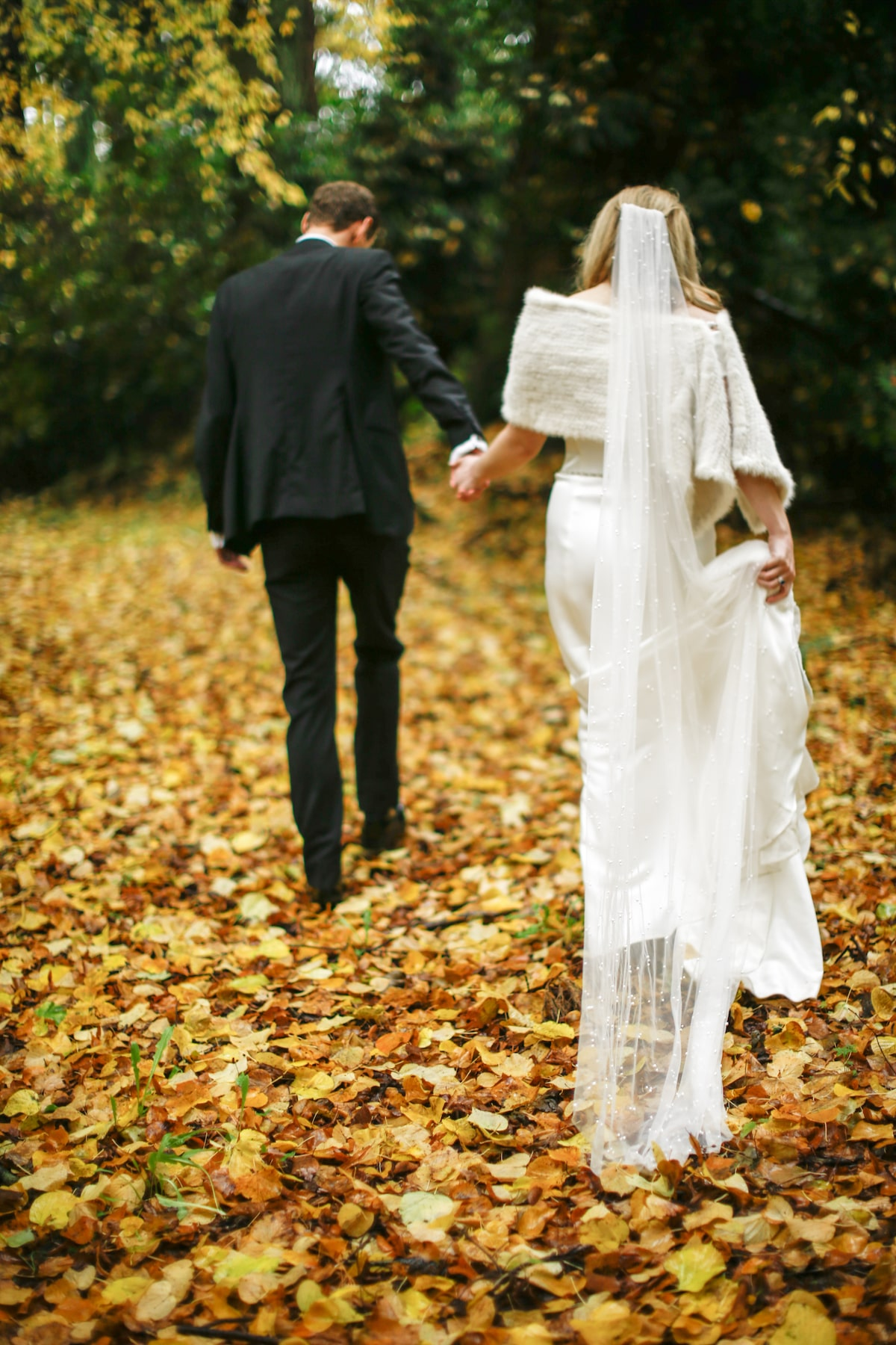 fall wedding at Virginia Park Lodge