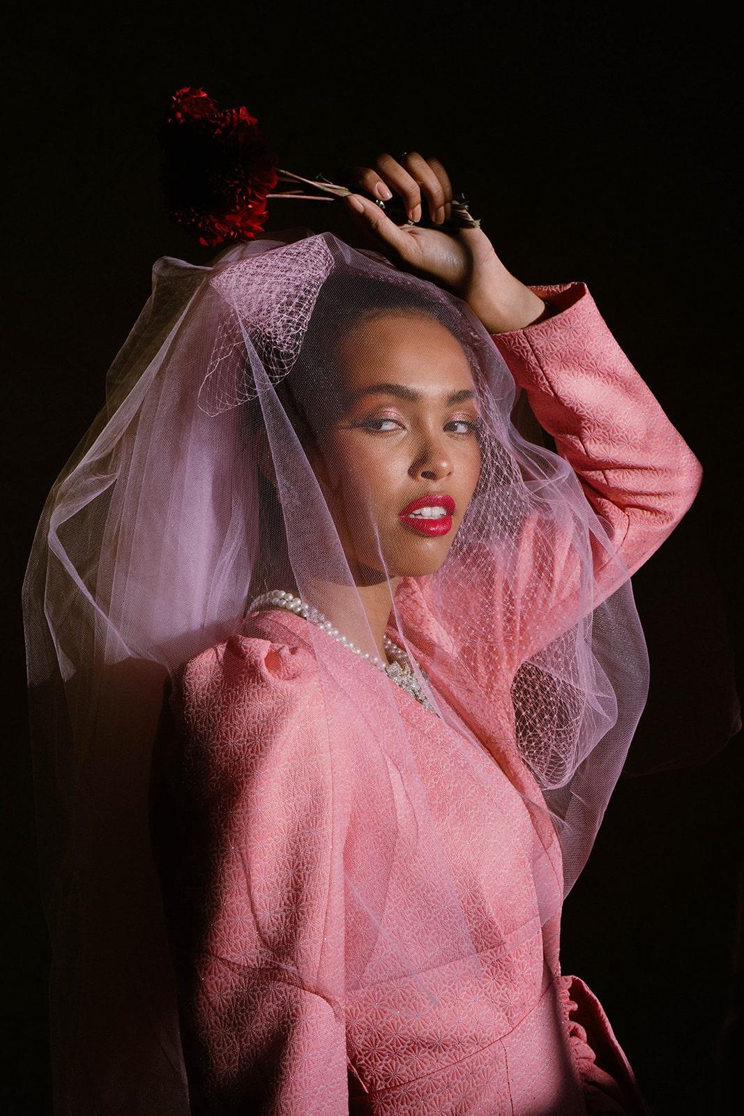 city wedding bold bridalwear
