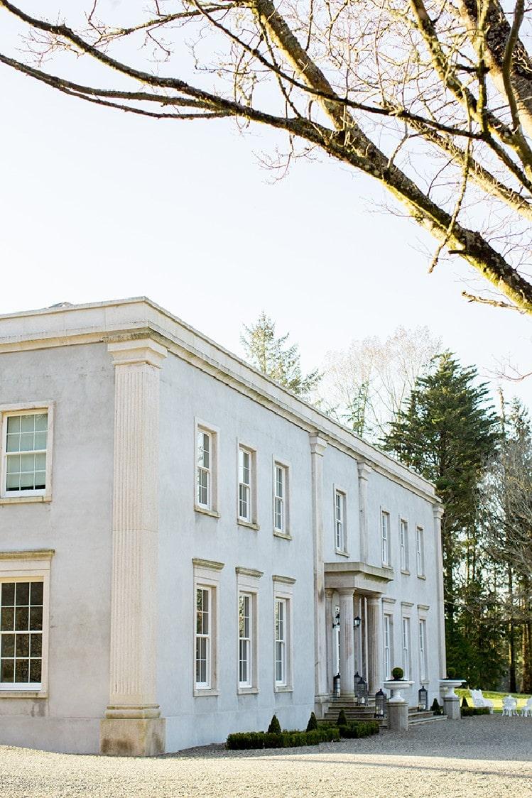 small wedding in Ireland Clonwilliam House