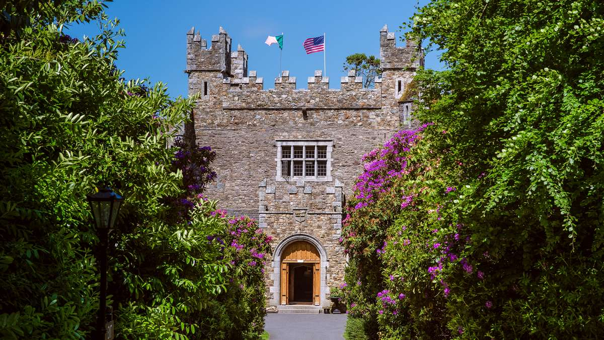 small wedding in Ireland Waterford Castle