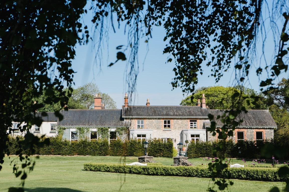 small wedding in Ireland Virginia Park Lodge