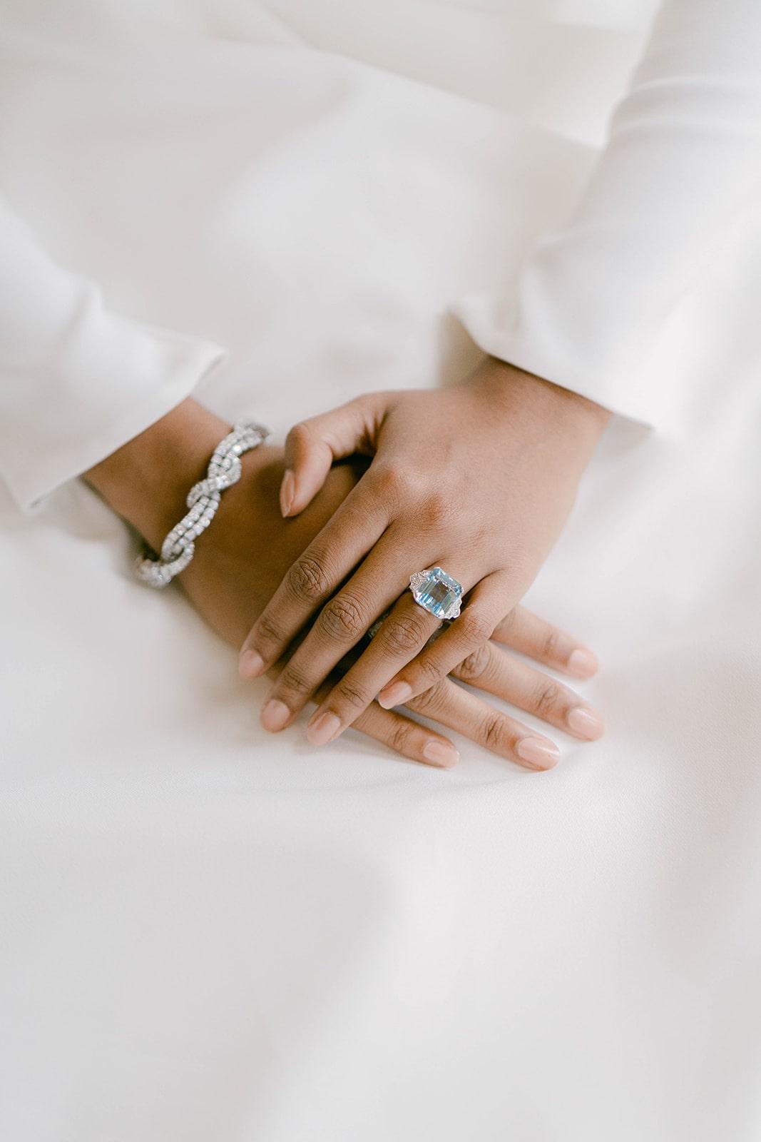 diamond bridal jewellery