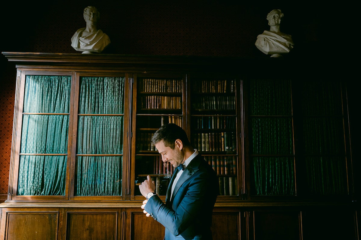Museum of Literature Ireland wedding groom