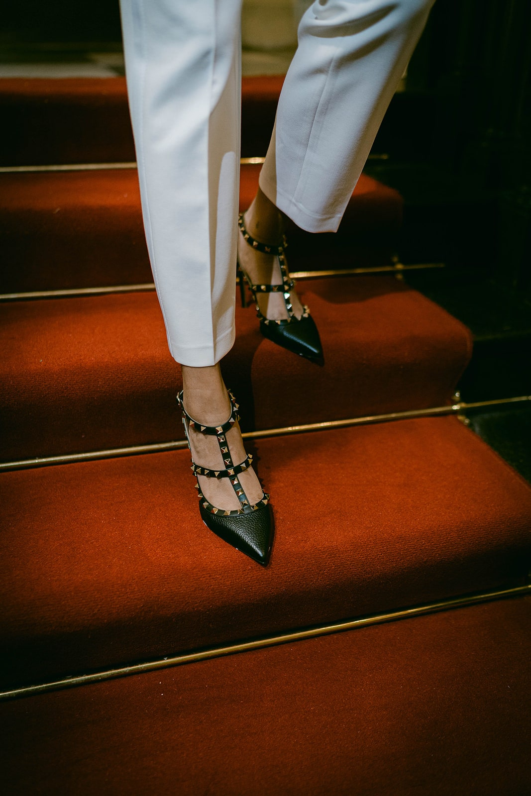 Valentino studded pump wedding shoes