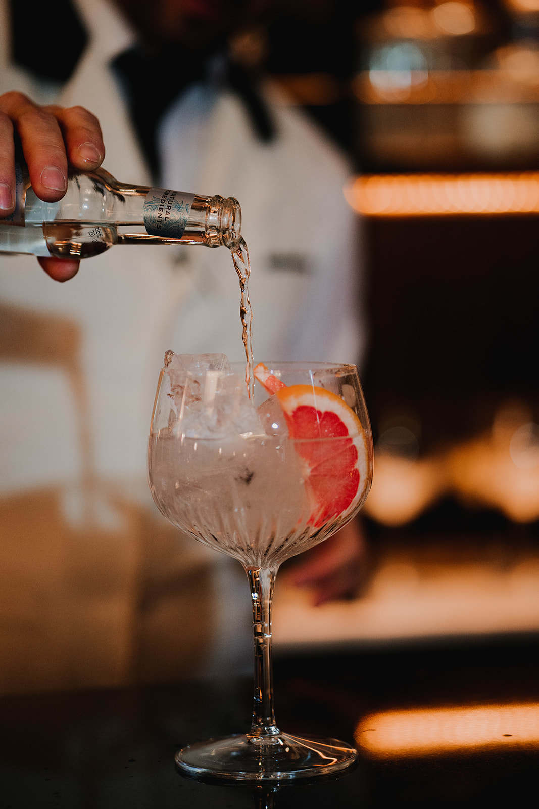 Irish Wedding Bar Gin and Tonic