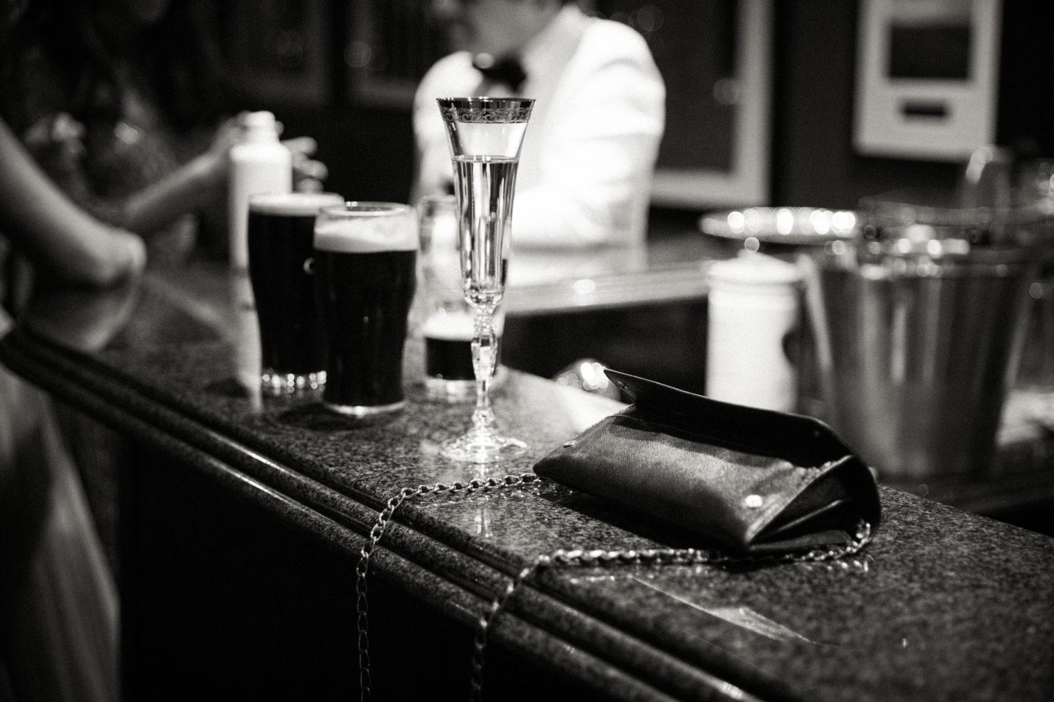 Irish Drinks for a wedding bar Guinness