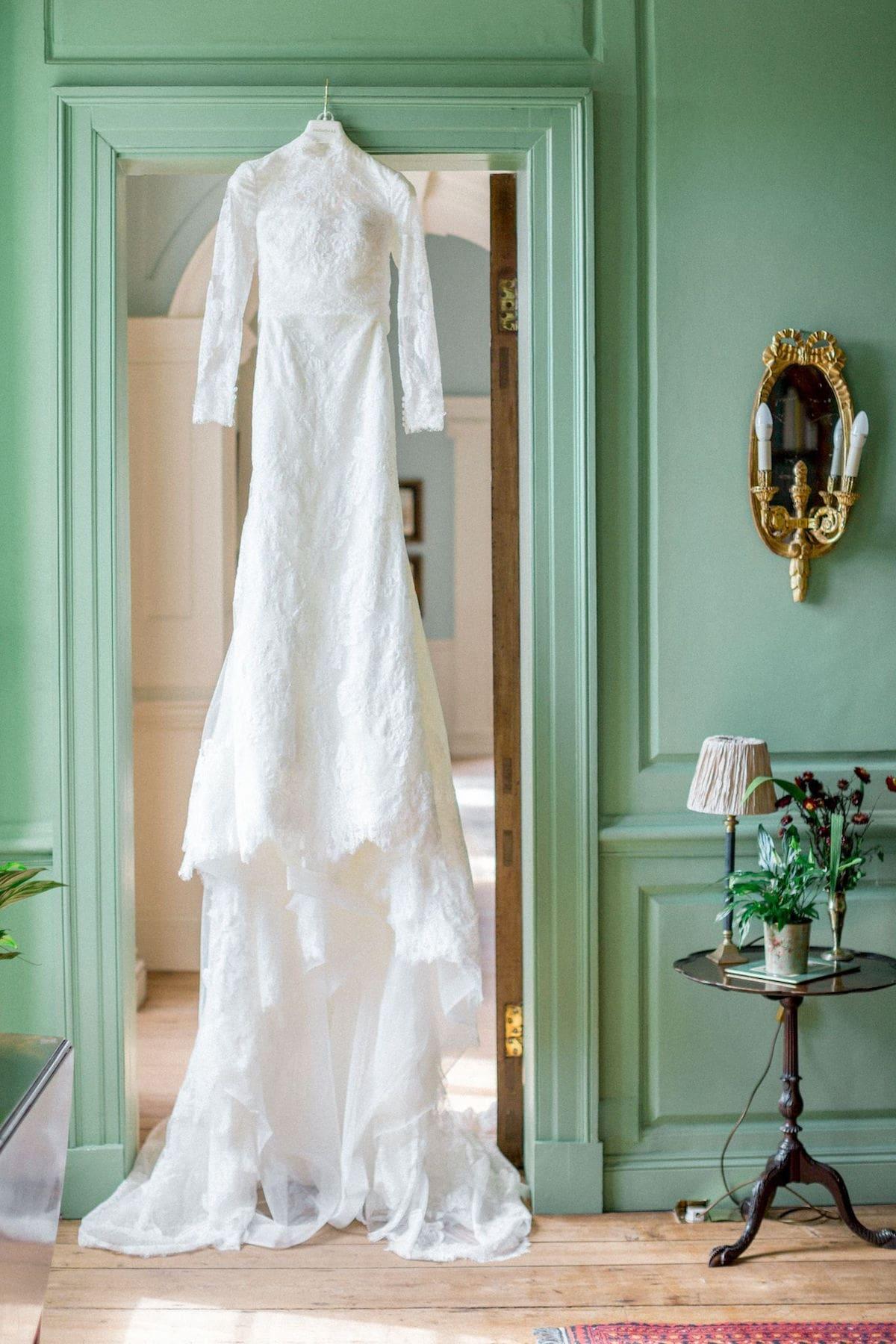 Irish destination wedding dress