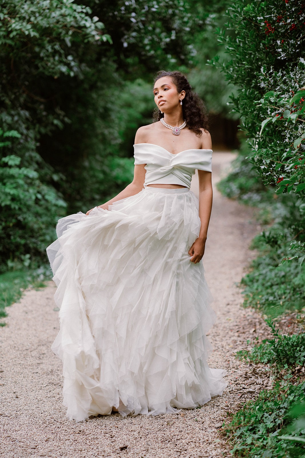 Iveagh Gardens Dublin literary wedding inspiration
