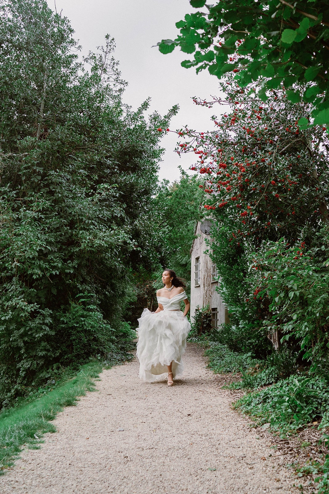 Iveagh Gardens wedding bride