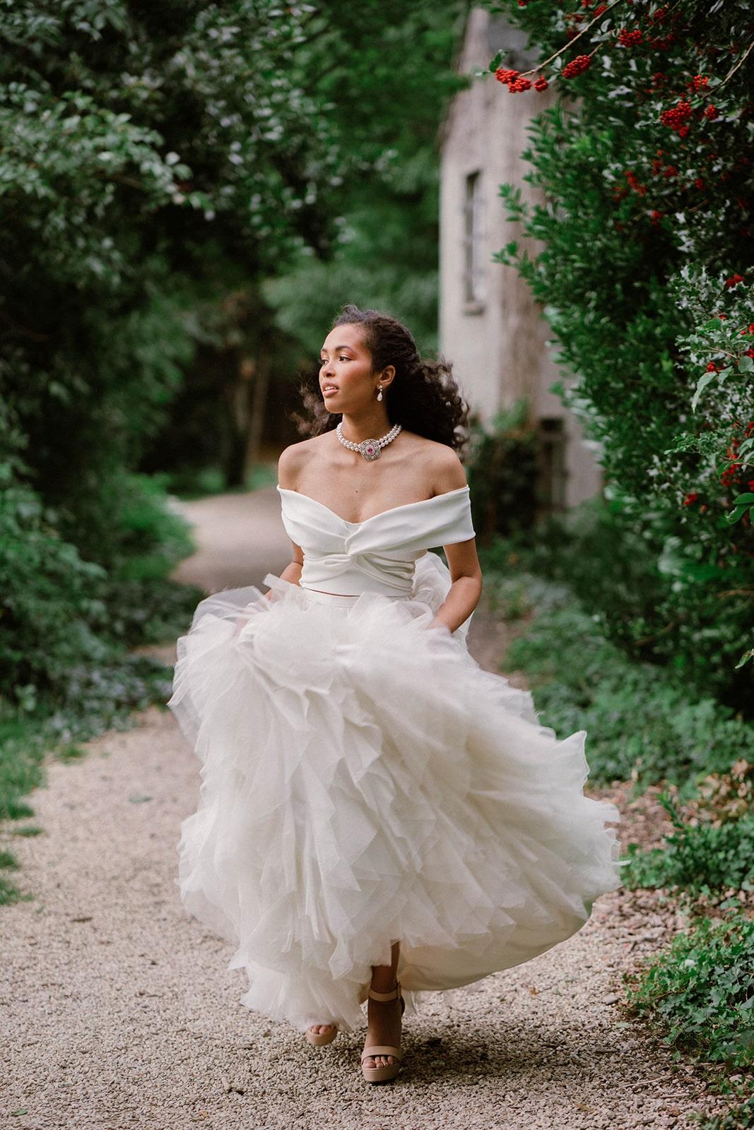 Halfpenny London bridal separates