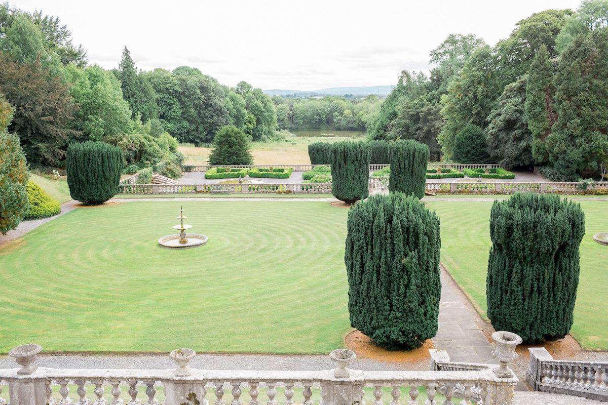 Gloster House wedding venue terraced gardens