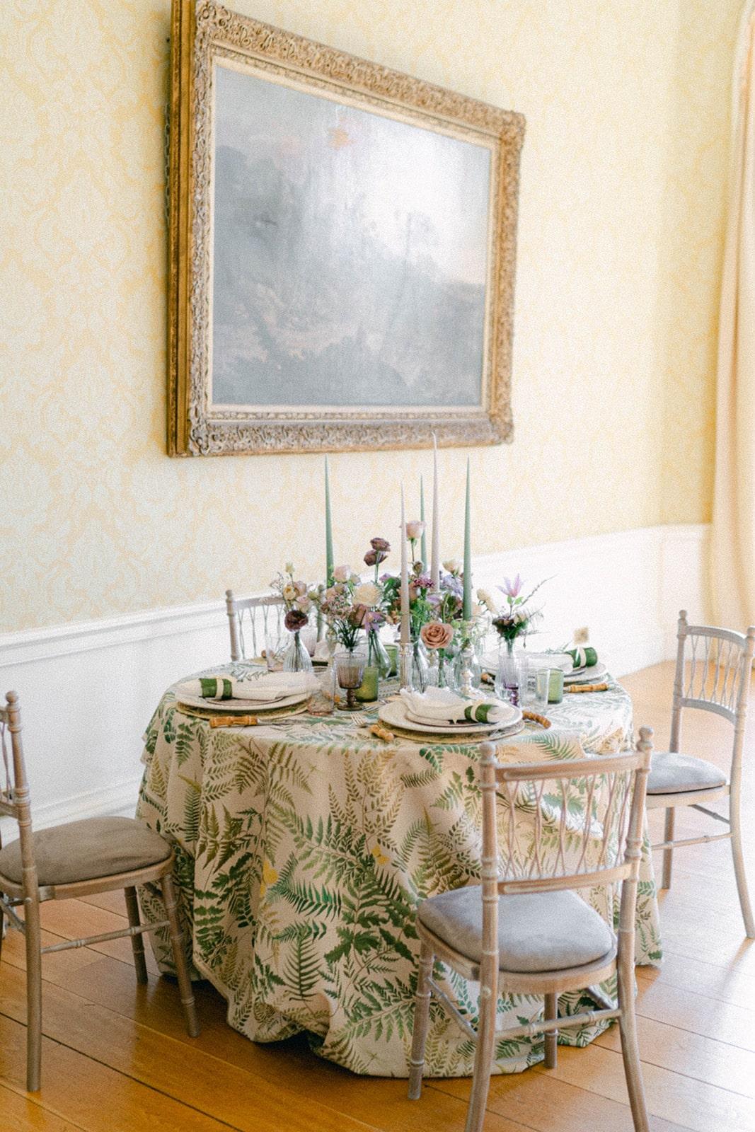 MoLi garden inspired literary wedding