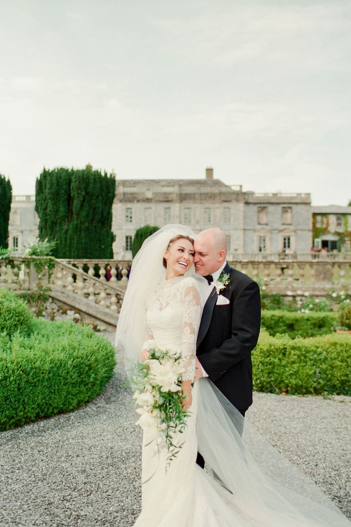 bride and groom Gloster House couple shoot