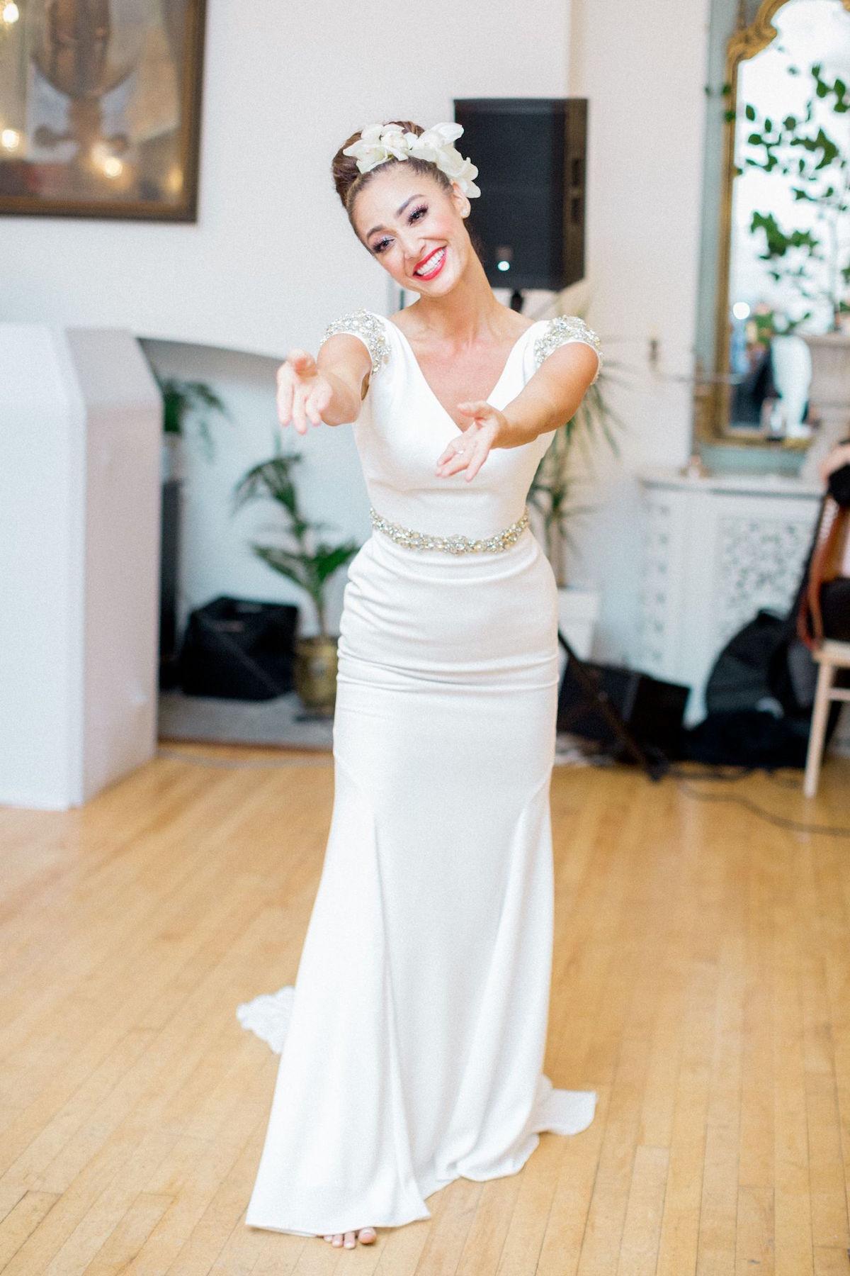 bride hula dance