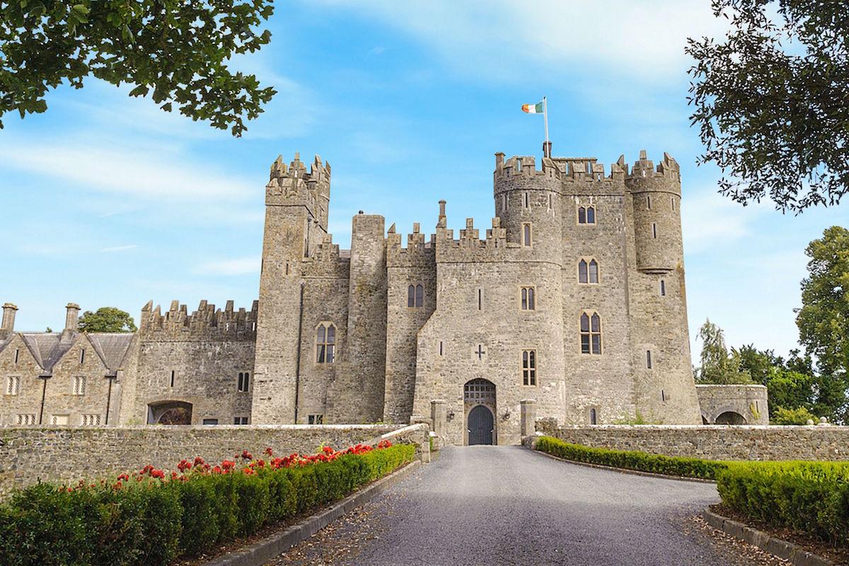 Castles in Ireland for a Wedding - Kilkea Castle, Co. Kildare