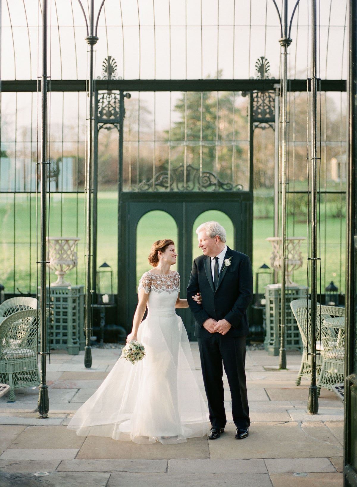 Ballyfin couple in conservatory